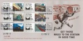 2017, Post & Go Mail by Rail, The Postal Museum Official FDC, The Postal Museum London WC1X H/S
