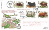 1984 British Cattle RFDC No.25 Official FDC