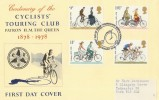 1978 Cycling Cyclists' Touring Club Special FDC, First Day of Issue Harrogate North Yorkshire H/S