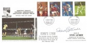 1980, Sporting Anniversaries, Markton Stamps Norfolk County Football Association FDC, King's Lynn FDI, Signed by Steve Latimer