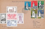 1972, Village Churches, Lundy Island FDC, Ilfracombe Devon cds. Addressed to & Signed by John Price, designer of the 1972 Lundy Stamps.