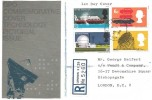 1966 British Technology, Registered GPO FDC, Liverpool Street Station EC2 cds