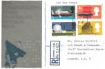 1966 British Technology, Registered GPO FDC, Liverpool Street Station EC2 cds