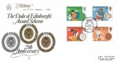 1981 Duke of Edinburgh Awards, Abbey FDC, First Day of Issue Philatelic Bureau Edinburgh H/S