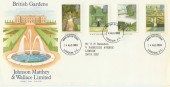 1983 British Gardens Johnson Matthey & Wallace Special FDC,  London EC FDI