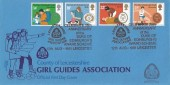 1981 Duke of Edinburgh's Award, Bradbury LFDC 12 Official FDC, Leicestershire Girl Guides Association Leicester H/S