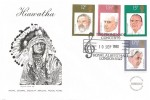 1980 British Conductors, Cotswold Special Hiawatha Royal Choral Society Special Music Fund FDC, 1980 Promenade Concerts Royal Albert Hall London SW7 H/S