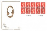 1993 10 x 1st Class £2.40  NVI QEII Booklet HA3, Cotswold FDC, Windsor Philatelic Counter H/S