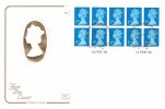 1996 10 x 2nd Class NVI £1.90 HA8 QEII Booklet, Cotswold FDC, Windsor Philatelic Counter H/S