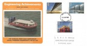 1983 Engineering Achievements, Presentation Philatelic Silk FDC No.3, Thanet Kent FDI