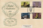 1971 Universities, Philart FDC, First Day of Issue Aberystwyth H/S
