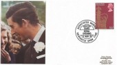 1978, 25th Anniversary of the Coronation, Arlington Supplies FDC,10½p stamp only, Associated Dairies Benton Dairy Royal Opening Newcastle Upon Tyne H/S