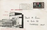 1964 Shakespeare Festival, Newlands Road Philatelic Society FDC, 1/3d ordinary Stamp only, The Pantiles Royal Tunbridge Wells slogan
