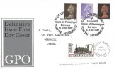 1967 4d, 1/-, 1/9d QEII Definitive issue, GPO FDC, Talyllyn Railway Hundred Years of Passenger Service Towyn Merioneth H/S, +1/1d Railway Letter Stamp  & Cachet