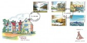 1981 National Trust, Arreton Manor Isle of Wight FDC, Isle of Wight FDI