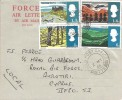 1966 British Landscapes, Forces Air Letter, Field Post Office 775 cds