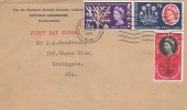 1961 Post Office Saving Bank, De Havilland Aircraft Company Ltd, FDC, Southgate N14 Cancel