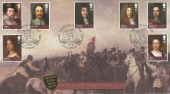 2010 The Stuarts, Battle of Dunbar Buckingham Covers Official FDC, The House of Stuart The Third Civil War Dunbar East Lothian Scotland H/S