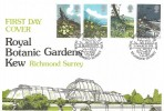 1979 British Flowers, Botanical Gardens Kew Official FDC, Royal Botanical Gardens Kew Richmond Surrey H/S