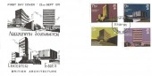 1971 Universities, Croydon Covers FDC, Croydon FDI