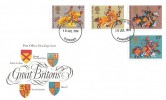1974 Great Britons, Post Office FDC, Dumfries FDI