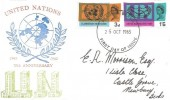 1965 United Nations & International Co-Operation Year, Philcovers FDC, Reading Berks. FDI