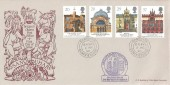 1990 Europa, Bradbury Britain's Oldest Post Office FDC, Sanquhar Dumfriesshire cds