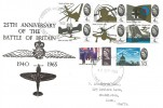 1965 Battle of Britain, Holmes Tolley FDC, Stoke on Trent Staffs. FDI