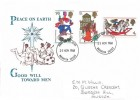1968 Christmas, Historic Relics FDC, Brighton Sussex FDI