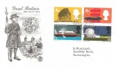 1966 British Technology, Stuart FDC, Barnstaple Devon cds