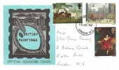 1967 Paintings, Art on Stamps Exhibition FDC, London WC FDI
