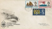 1963 Lifeboat Conference, BPA / PTS FDC, London EC First Day of Issue Slogan