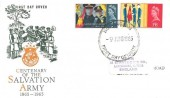 1965 Salvation Army, Illustrated FDC, Nottingham FDI