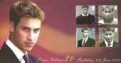2006 Prince William 21st Birthday Cover, Royal Mail London SW H/S