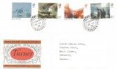 1975 Turner, Post Office FDC, Petworth Sussex cds