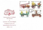 1974 First Fire Service Legislation, Leicestershire & Rutland Fire Service FDC, Leicester FDI