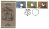1971 Literary Anniversaries, Post Office FDC, First Day of Issue London EC H/S