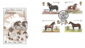 1978 Shire Horse Society, Mercury FDC, The Royal Show Kenilworth Warwickshire H/S
