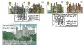 1978 Historic Buildings, Mercury FDC, Britain's Royal Heritage Hampton Court Palace Kingston Upon Thames H/S