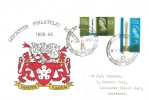 1965 Post Office Tower, Leicester Philatelic Society Official FDC, Leicester Philatelic Society Diamond Jubilee H/S