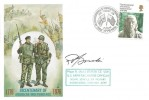 1976 American Bicentenary, British Forces Official FDC, American Independence British Forces 1776 Post Service H/S, Signed by Major R. Gorski US Army Exchange Officer