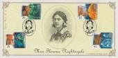 1994 Medical Discoveries, Bradbury Victorian Print No.89 Official FDC, Florence Nightingale 1820 - 1910 London SE1 H/S