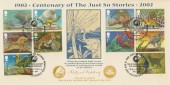 2002, The Just So Stories Rudyard Kipling, Covercraft Official FDC, 75th Anniversary The Kipling Society Rottingdean Brighton H/S
