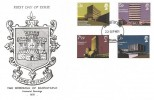 1971 Universities, The Borough of Barnstaple FDC, Barnstaple Devon FDI