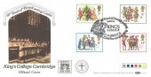 1978 Christmas, Benham BOCS 6 Official FDC, 50 Years of Boardcasting Carols King's College Cambridge H/S