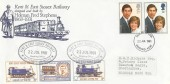 1981 Royal Wedding Kent & East Sussex Railway Special FDC, Ashford Kent FDI