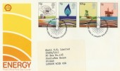 1978 Energy Shell Overprinted Post Office FDC, Philatelic Bureau Edinburgh H/S