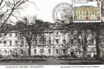 1975 Architecture, Postcard of Charlotte Square Edinburgh FDC, 7p Charlotte Square Edinburgh stamp, used on front, National Trust 7 Charlotte Square Edinburgh H/S