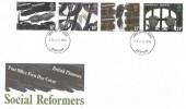 1976 Social Pioneers & Reformers, PO FDC Durham FDI