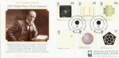 2001 Nobel Prize Centenary Westminster Covercraft Official FDC